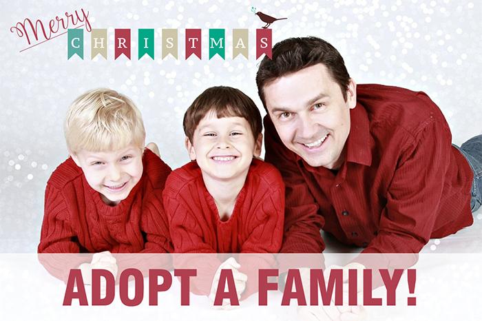 Adopt a Family Calgary Canada