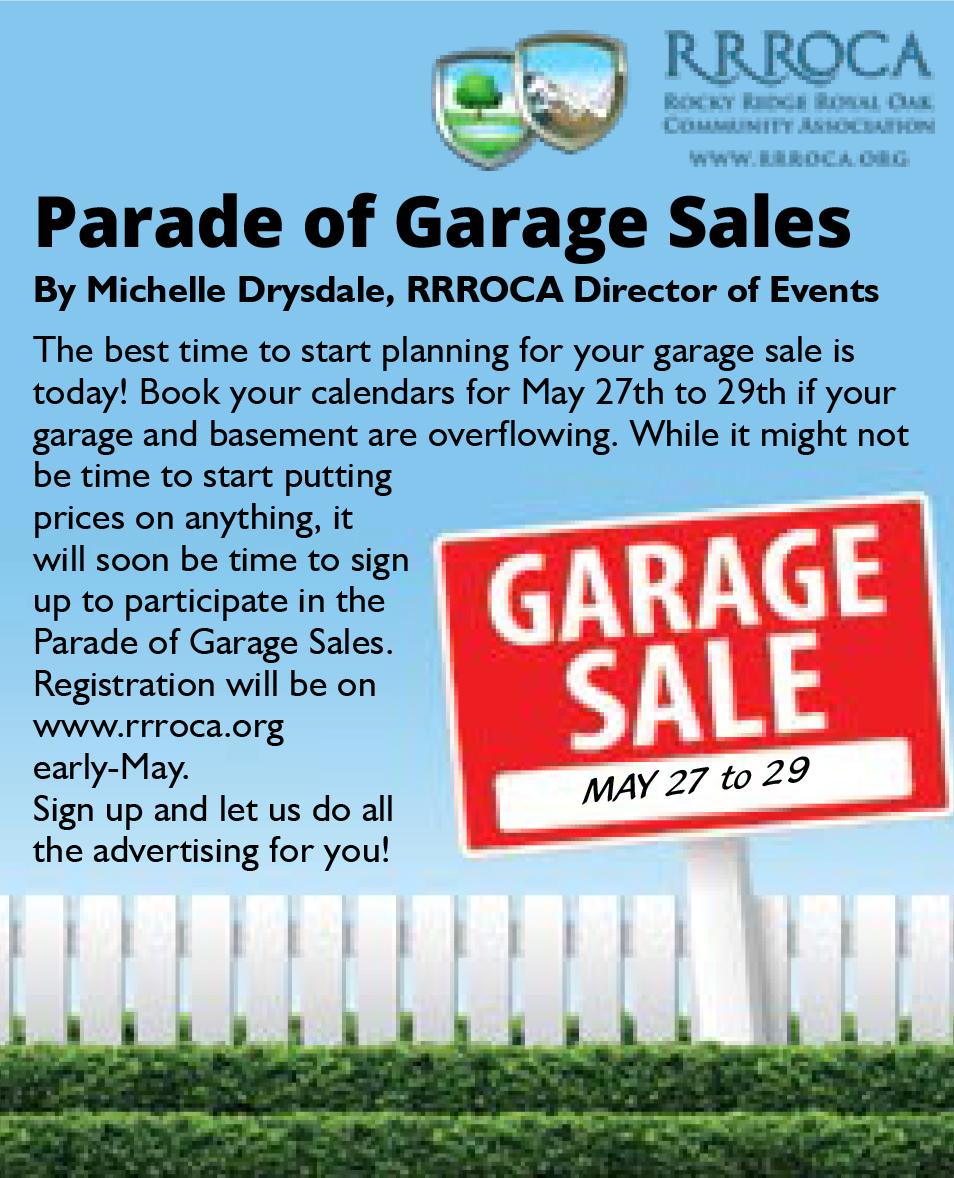 Parade of Garage Sales