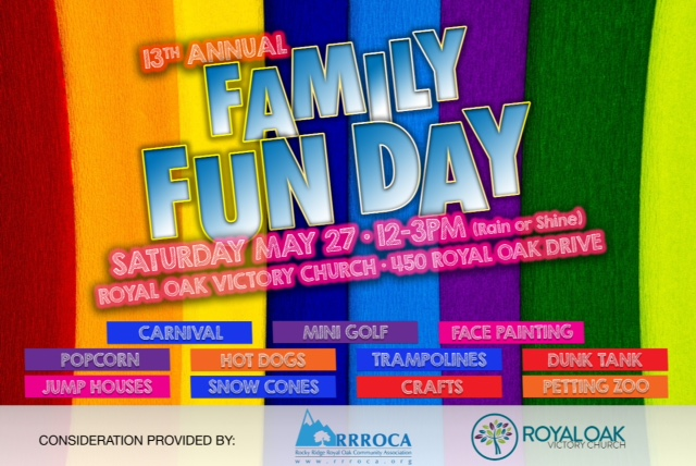 RRROCA Family Fun Day